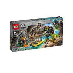 LEGO Jurassic World T. Rex Vs Dino-Mech Battle 75938 5702016542707
