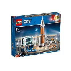 LEGO City Πύραυλος Εξωδιαστήματος Και Κέντρο Ελέγχου Εκτόξευσης 60228 5702016370485