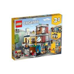 LEGO Creator Κτίριο Με Κατάστημα Κατοικίδιων Ζώων Και Καφετέρια 31097 5702016367911