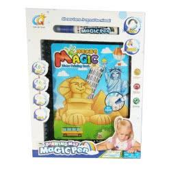 Toys-shop D.I Βιβλίο Ζωγραφικής Με Μαγικό Μαρκαδόρο Διάσημα Μνημεία JK101998 6990119019984