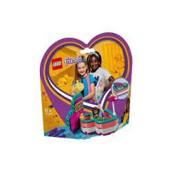 LEGO Friends Καλοκαιρινό Κουτί-Καρδιά Της Άντρεα 41384 5702016419832