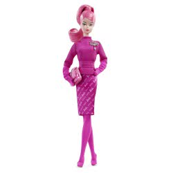 Mattel Collector 60Th Anniversary Barbie Fashion Model Collection Proudly Pink Doll FXD50 887961688672