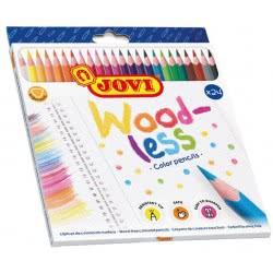 JOVI Woodless Colored Pencils 24 Count 226.734-24 8412027031868