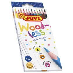 JOVI Woodless Colored Pencils 12 Count 226.734-12 8412027031851