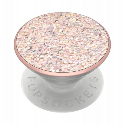 Popsockets Swappable Sparkle Rose Compatible With All Smartphones 800499 842978135366