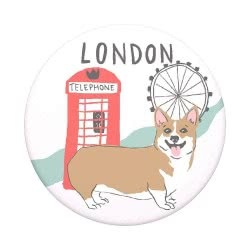 Popsockets Swappable London Compatible With All Smartphones 801018 842978139883