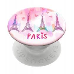 Popsockets Swappable Paris Love Για Όλα Τα Κινητά 801020 842978139906