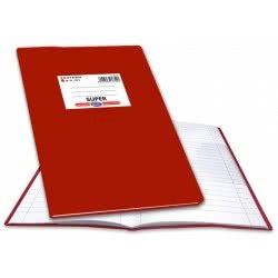 SKAG Τετράδιο Εξηγήσεων SUPER B5 50 φύλλων Κόκκινο 217521 5201303217521
