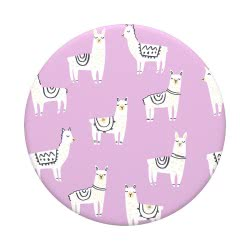 Popsockets Swappable Lotsa Llama Compatible With All Smartphones 801115 842978140933