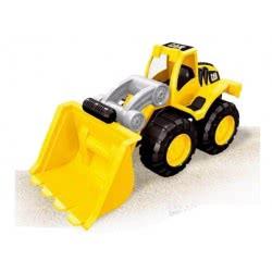 Toys-shop D.I Μεγάλος Πλαστικός Εκσκαφέας Free Wheel  JI044197 6990119441976
