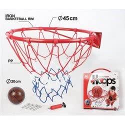 Toys-shop D.I Στεφάνι Μπασκέτας 45Εκ Basketball JS059253 6990119592531