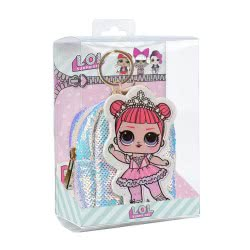 Cerda L.O.L. Surprise Key Chain Coin Purse - White 2600000566 8427934287581