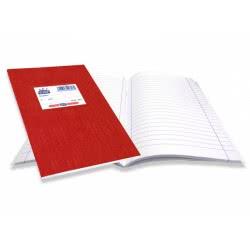SKAG Τετράδια Super Χρωματιστό 17X25 80Γρ Κόκκινο 50Φυλλα 226080 5201303226080