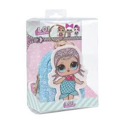 Cerda L.O.L. Surprise Key Chain Coin Purse - Blue 2600000566 8427934287598