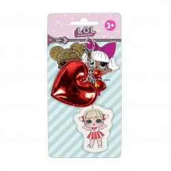 Cerda L.O.L. Surprise Key Chain Red Heart 2600000565 8427934287550