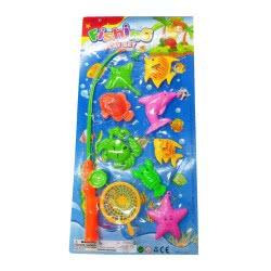 Toys-shop D.I Σετ Ψαρέματος Με Καλάμι Και Ψαράκια JV016907 5202015169078