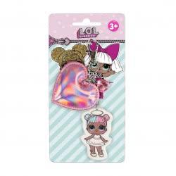 Cerda L.O.L. Surprise Key Chain Pink Heart 2600000565 8427934287567