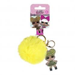 Cerda L.O.L. Surprise Key Chain - Yellow 2600000564 8427934287529