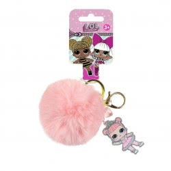 Cerda L.O.L. Surprise Key Chain - Pink 2600000564 8427934287505