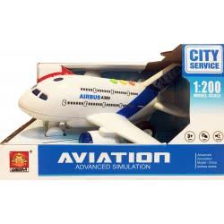Toys-shop D.I Αεροπλάνο Με Φώτα Και Ήχους Σε Κλίμακα 1:200 Friction JA086958 6990119869589