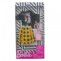 Mattel Barbie Fashion Βραδινά Σύνολα, California Love Μονόκερος Μπλούζα Και Φούστα FND47 / FXJ11 887961692334