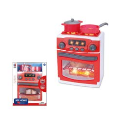 Toys-shop D.I Κουζίνα Με Φούρνο Και Μάτια Με Φως Και Ήχο JU046667 6990119466672