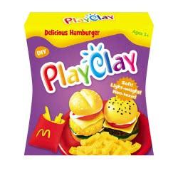 Toys-shop D.I Playclay Delicious Hamburger JK100195 6990119001958