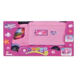 Toys-shop D.I My Dream Home Camper Τροχόσπιτο Ροζ JO088439 6990119884391