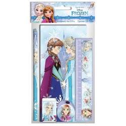 Diakakis imports Disney Frozen Σχολικό Σετ 5 Τεμαχίων Ψυχρά Και Ανάποδα 000562222 5205698430169