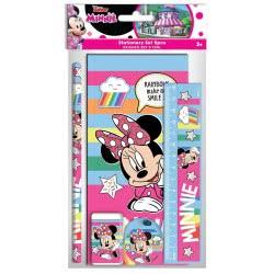Diakakis imports Minnie Mouse Σχολικό Σετ 5 Τεμαχίων Μίνι 000562226 5205698430268