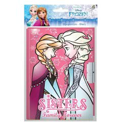 Diakakis imports Disney Frozen Ημερολόγιο Με Κλειδαριά Ψυχρά Και Ανάποδα - Ροζ 000562342 5205698443008