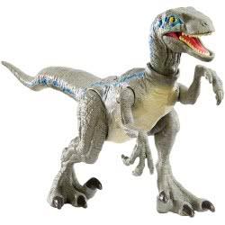 Mattel Jurassic World Βασική Φιγούρα Δεινόσαυρου Με Σπαστά Μέλη - Savage Strike Velociraptor GCR54 / GFG67 887961761498