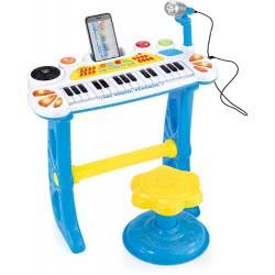 Toys-shop D.I Ηλεκτρονικό Αρμόνιο Με 31 Πλήκτρα Και Σκαμπό - 2 Χρώματα JM083797 6990119837977