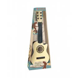 Toys-shop D.I Κιθάρα 55Εκ Πλαστική Με 6 Χορδές Σε 3 Χρώματα 1Τεμ JM083710 6990119837106