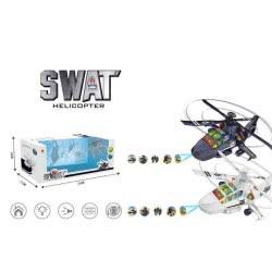 Toys-shop D.I Ελικόπτερο Μπαταρίας Με Ήχους Και Φώτα Σε 2 Χρώματα JB057895 6990119578955