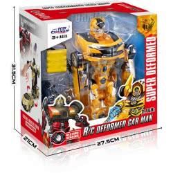 Toys-shop D.I R/C Τηλεκατευθυνόμενο Όχημα Ρομπότ Super Deformed Car Man Hornet Fighter JF060848 6990119608485