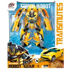 Toys-shop D.I Super Transformer Robot Auto Warrior Όχημα - Ρομποτ JL040484 6990119404841