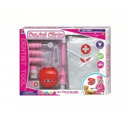 Toys-shop D.I Doctor Set Dental Clinic Pink JU042386 6990119423866
