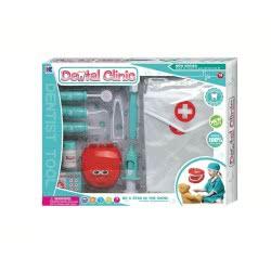 Toys-shop D.I Ιατρικό Σετ Οδοντίατρου Σιέλ Dental Clinic JU042388 6990119423880