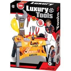 Toys-shop D.I Luxury Tools Πάγκος Εργασίας Με 46 Αξεσουάρ JU043567 6990119435678