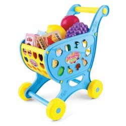 Toys-shop D.I Shopping Cart With 28 Accessories JU043697 6990119436972
