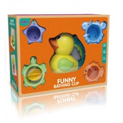 Toys-shop D.I Bath Toys Funny Bathing Cups JV021218 6990119212187