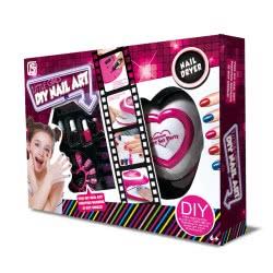 Toys-shop D.I Little Girls Nail Art Machine JX039664 6990119396641
