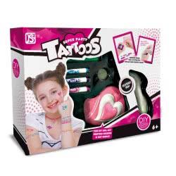 Toys-shop D.I Στούντιο Τατουάζ Super Party Tattoos JX039672 6990119396726