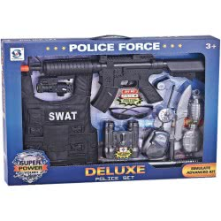 Toys-shop D.I Deluxe Police Force Set SWAT JY055613 6990119556137