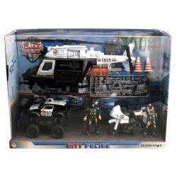 Toys-shop D.I City Police Force Σετ Παιχνιδιού  JY055162 6990119551620