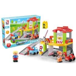 Toys-shop D.I Repair Station Blocks Garage 57 Pieces JK104336 6990119043361