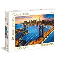 Clementoni Παζλ Ενηλίκων 3000 Τεμ. Νέα Υόρκη 1220-33546 8005125335466