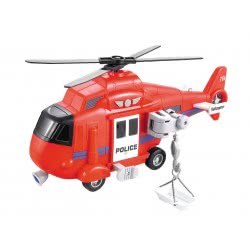 Toys-shop D.I Rescue Helicopter With Lights And Sounds JA086965 6990119869657