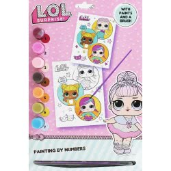 Gialamas L.O.L. Surprise Painting Set With Numbers TM074088 9781788240765